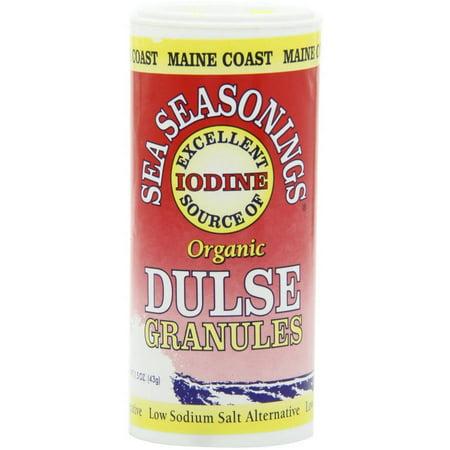 Maine Coast Dulse Granules Organic Sea Seasoning, 1.5 oz, (Pack of 4) ()