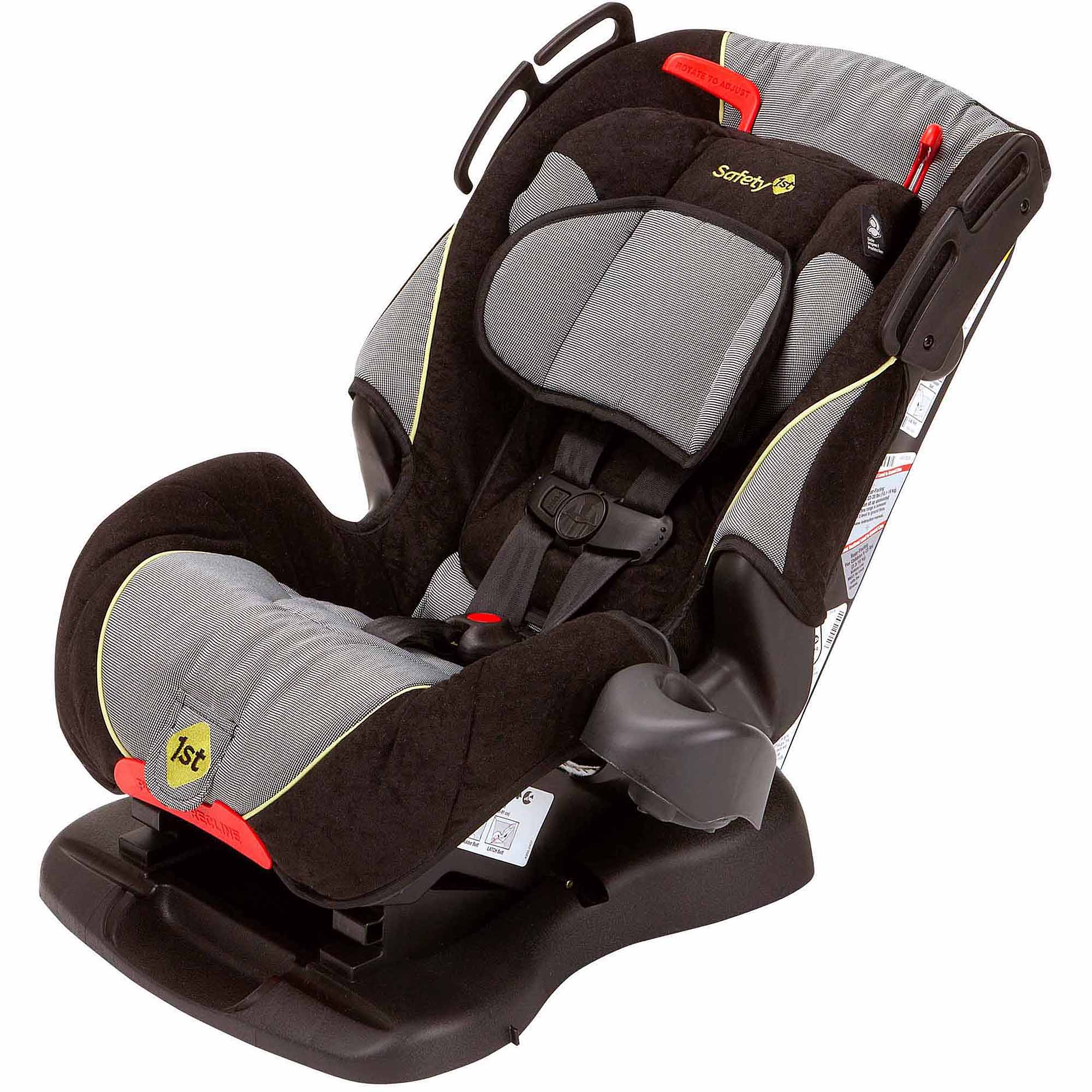 Safety 1st Alpha Omega Elite Convertible 3 In 1 Car Seat, Nitro | CC106NTR    Walmart.com