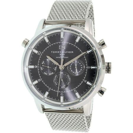 7c20bca6 Tommy Hilfiger - Stainless Steel Mesh Men's Watch, 1790877 - Walmart.com