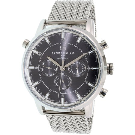 Tommy Hilfiger Stainless Steel Mesh Men's Watch, 1790877