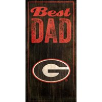 Fan Creations NCAA Best Dad Textual  Art Plaque