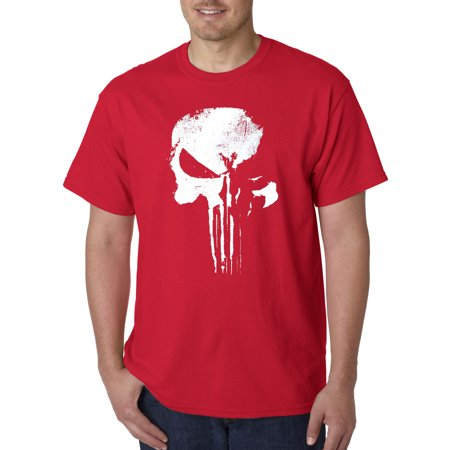 New Way 687 - Unisex T-Shirt New Daredevil Punisher Skull Logo (Punisher Shirt)