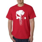 New Way 687 - Unisex T-Shirt New Daredevil Punisher Skull Logo