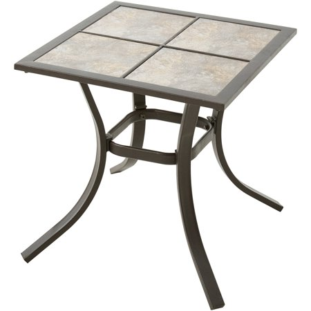 Mainstays Heritage Park Patio Side Table 18 Quot X 18 Quot Best