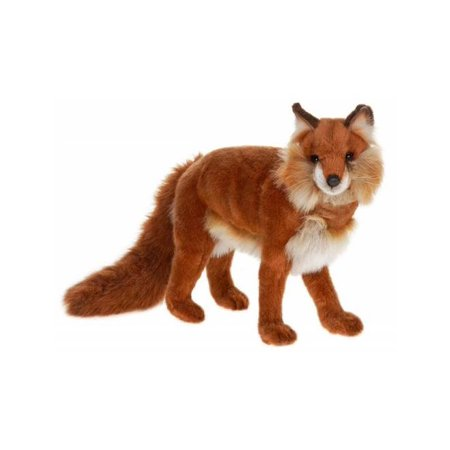 Hansa Standing Red Fox Plush Toy - Fox Plush
