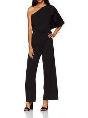 Women's Jumpsuit One-Shoulder Crepe 4