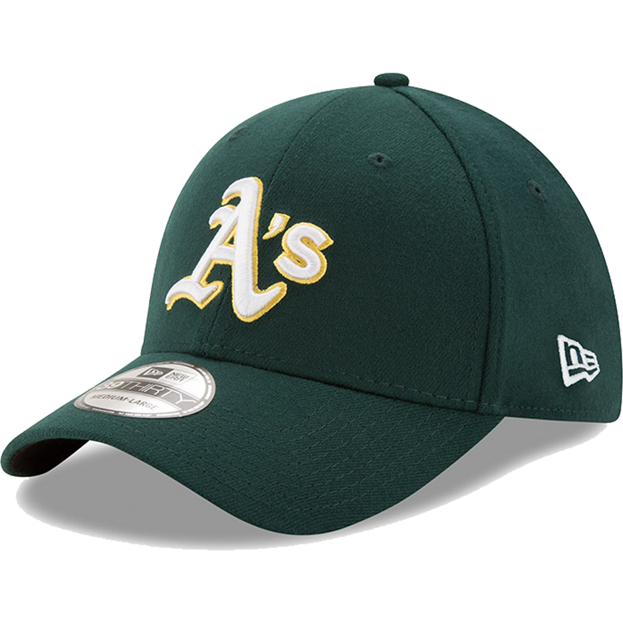 Oakland Athletics New Era Team Classic Road 39THIRTY Flex Hat - Green