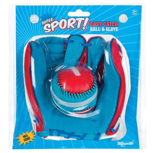 Toysmith Super Sport Easy Catch Ball & Glove Set