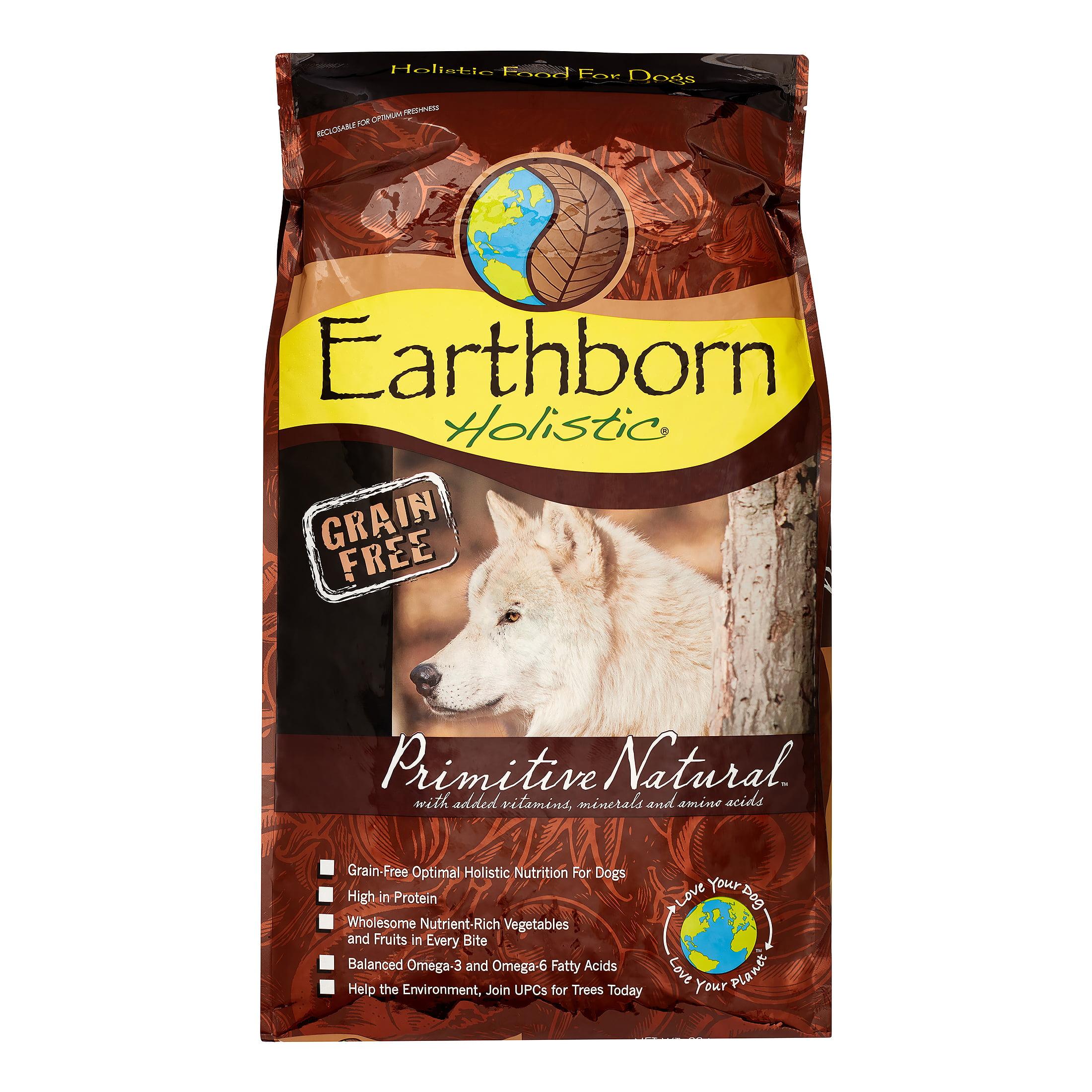 Earthborn Holistic Multi Protein Primative Natural Adult Dry Dog Food 28 Lb Walmart Com Walmart Com