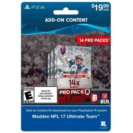 Madden 17 14 Pro Pack Sony
