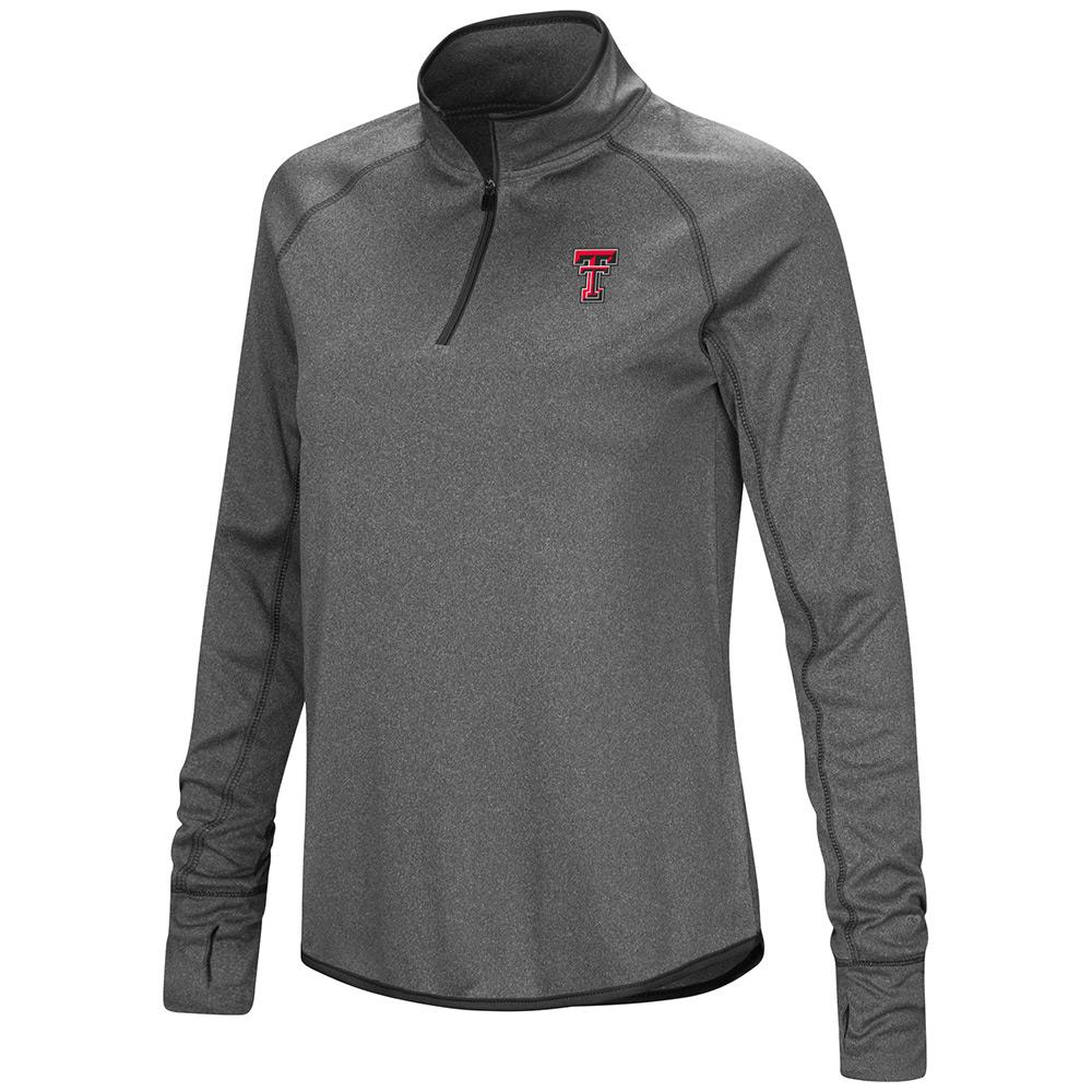 Womens Texas Tech Red Raiders Quarter Zip Wind Shirt - S