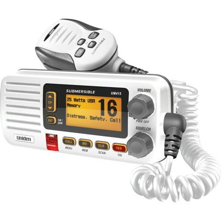Uniden UM415 Oceanus D Marine Radio, White