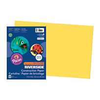 Large Pacon® Riverside® Construction Paper - Yellow(pack of 1)