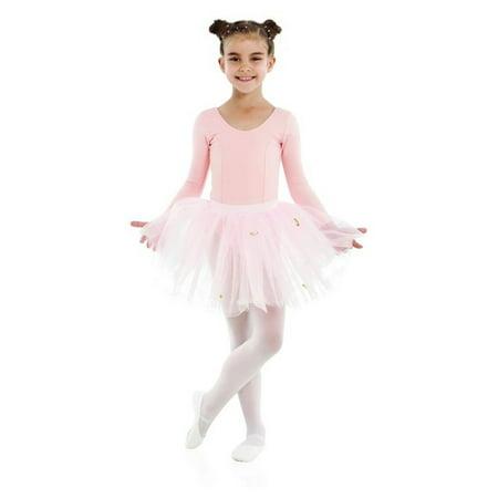 Sansha Pink Fiorentina Rhinestones Tutu Dance Trunk Girl 4-14 - Girls Trunk