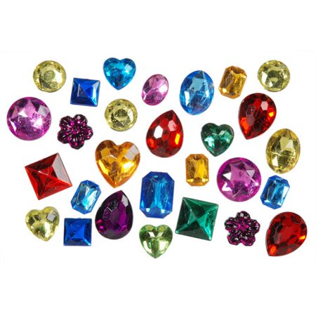 Rhinestones Assorted Shapes And Sizes 1Pound
