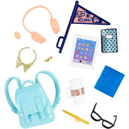 Barbie 12-Piece School Spirit Themed Accessory Fashion Pack