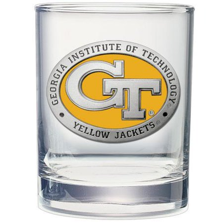 Georgia Tech Double Old Fashioned Glass