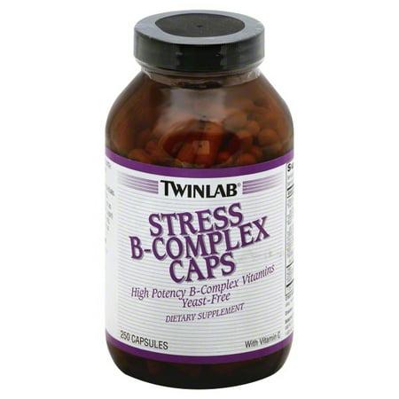 Twinlab Choline 100 Caps - TwinLab TwinLab  Stress B-Complex Caps, 250 ea