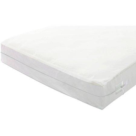 Continental sleep mattress or box spring zippered for Bed bug mattress and box spring protector