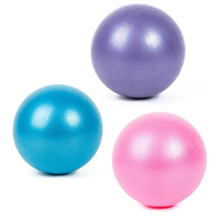 5pcs Yoga Equipment Set Include Yoga Ball Yoga Blocks Stretching Strap Resistance Loop Band Exercise Band - image 2 of 6