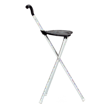 Sensational Folding Chair And Walking Stick Cane By Proactive Sports Pabps2019 Chair Design Images Pabps2019Com