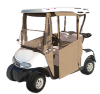 DoorWorks Hinged Door Golf Cart Enclosures - EZGO RXV