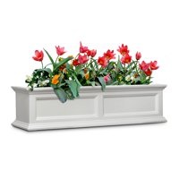 Mayne Fairfield Window Box 4FT White