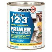 Zinsser Bulls Eye 1-2-3 Primer for All Surfaces, 1 Quart