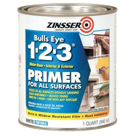 Zinsser Bulls Eye 1 2 3 Primer for All Surfaces 1 Quart