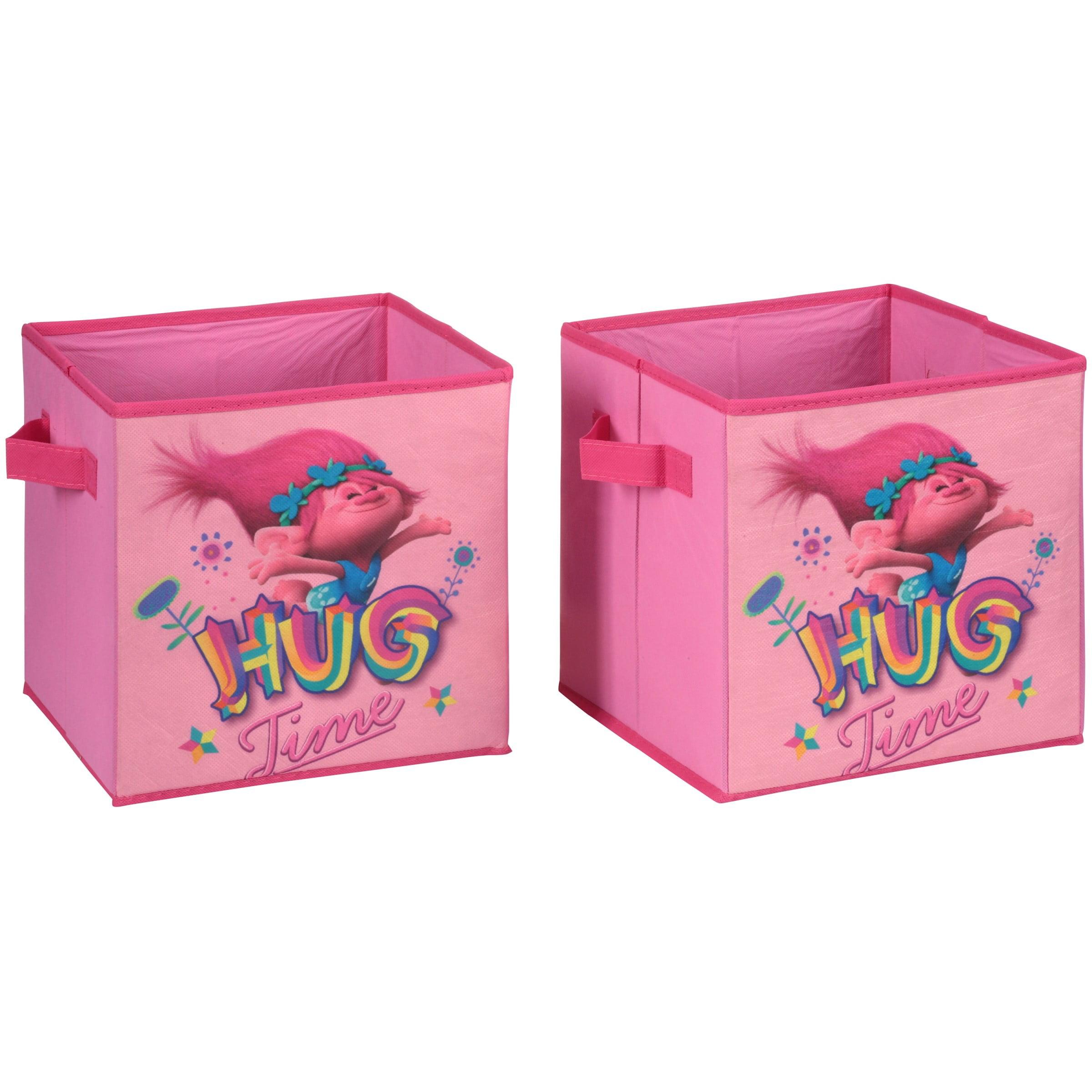 Dreamworks Trolls Storage Cubes, 2 Pack