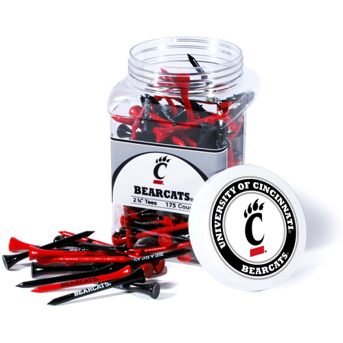 Team Golf NCAA Cincinnati Jar Of 175 Golf Tees