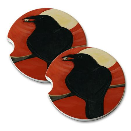 KuzmarK Sandstone Car Drink Coaster (set of 2) - Tidbit Art by Denise Every