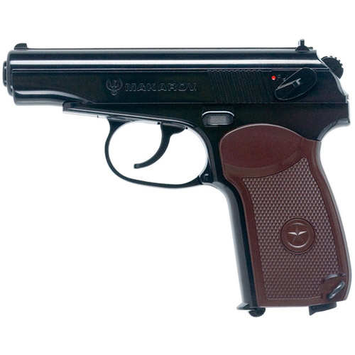 Umarex Makarov .177 BB Gun, Black/Brown