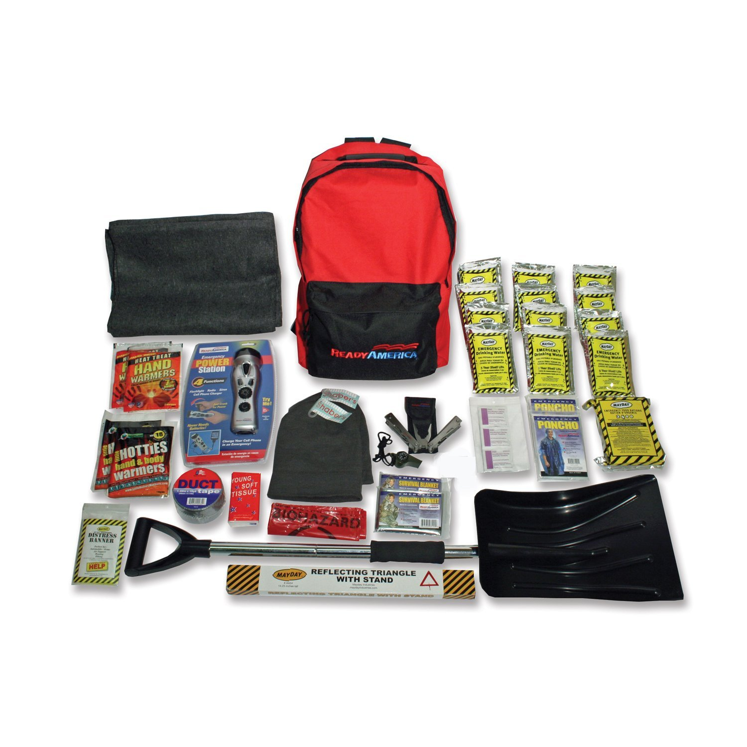 Ready America 2Person Cold Weather Survival Kit-3 Day Pack