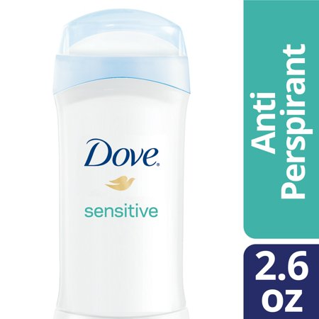 (2 pack) Dove Antiperspirant Deodorant Sensitive Skin 2.6