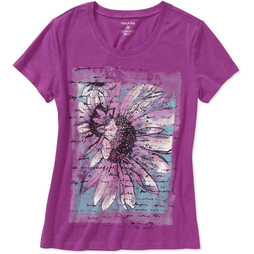 White Stag Women's Short Sleeve Graphic Tee