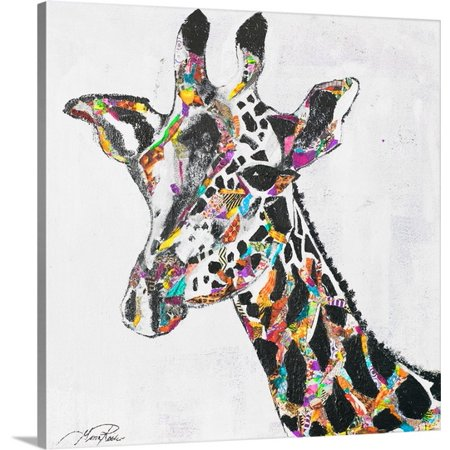 Safari Collage - Great BIG Canvas Gina Ritter Premium Thick-Wrap Canvas entitled Safari Collage II