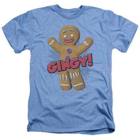 Shrek Gingy Mens Heather Shirt