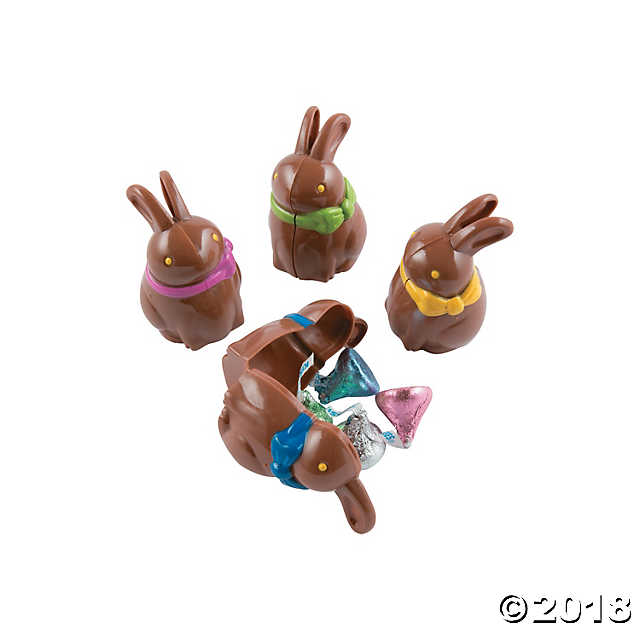 Chocolate Bunny-Shaped Eggs
