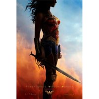 Pop Culture Graphics MOVAB84155 Wonder Woman Movie Poster, 27 x 40