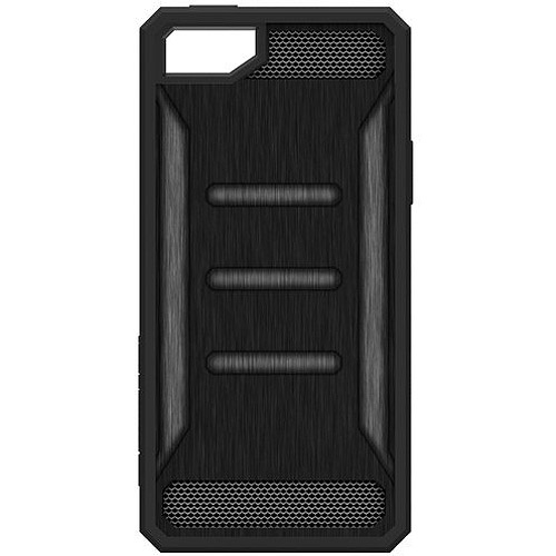 Impact Gel Xtreme Armour Slim Protection Cell Phone Case for Apple iPhone 5/5s/SE,  Black Frame, Black and Grey Back, Green Shock and Impact Resistant Patented Gel. Exceeds Military Grade Standards