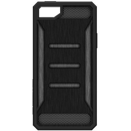 new product 47382 31f11 Impact Gel Xtreme Armour Slim Protection Cell Phone Case for Apple iPhone  5/5s/SE, Black Frame, Black and Grey Back, Green Shock and Impact Resistant  ...