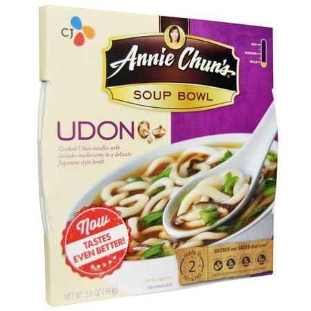Udon Bowl (Annie Chun's, Soup Bowl, Udon, Mild, 5.9 oz (pack of 4))