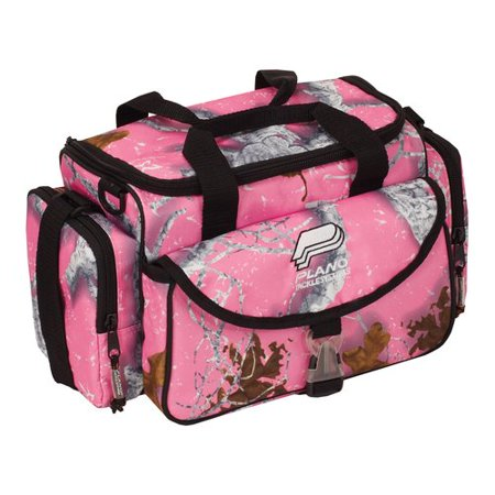 Plano tackle bag pink for Pink fishing reel