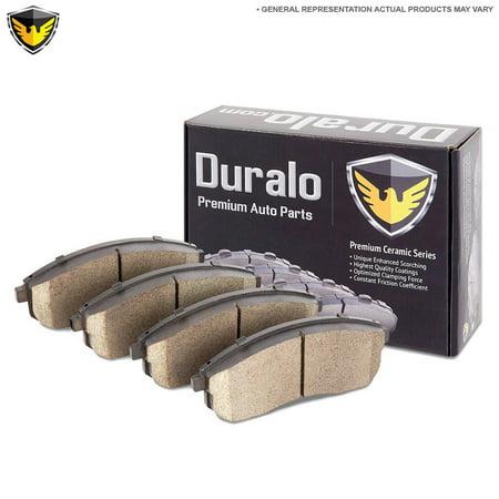 Duralo Ceramic Rear Brake Pad Set For Audi A6 A8 RS4 RS6 S4 S6 S8 & VW - Audi Brake Pad Sensor