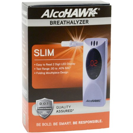 AlcoHawk Slim Digital Breath Alcohol Tester