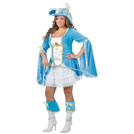 Lady Musketeer Costume (Madam Musketeer Adult Halloween)