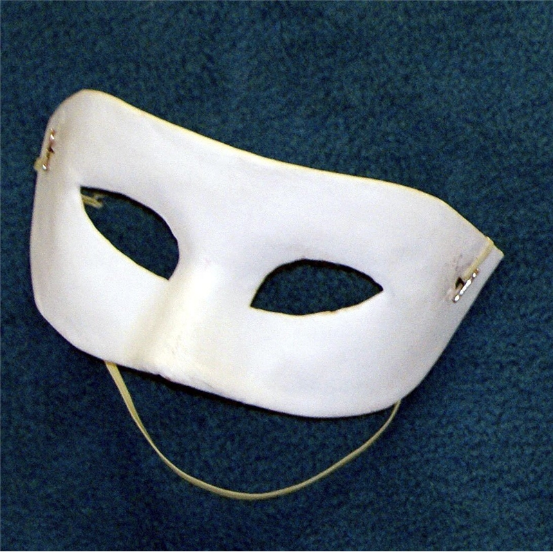 Unpainted Adult Eye Mask