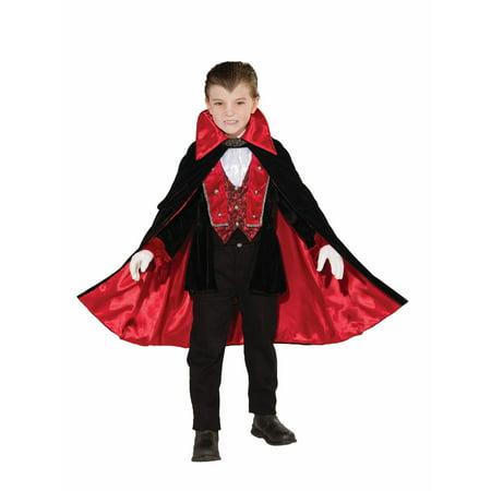 Mens Victorian Vampire Costume (Halloween Child Victorian Vampire)