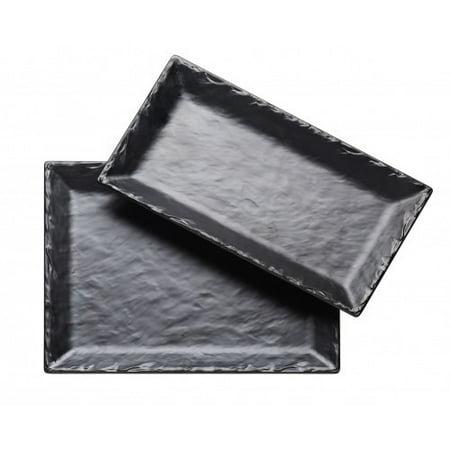- Cal-Mil Melamine Slate Platter